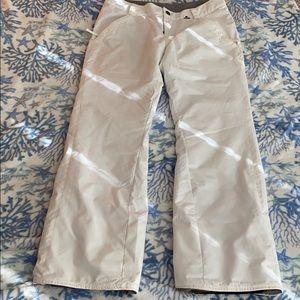 Volcom White Snow Pants